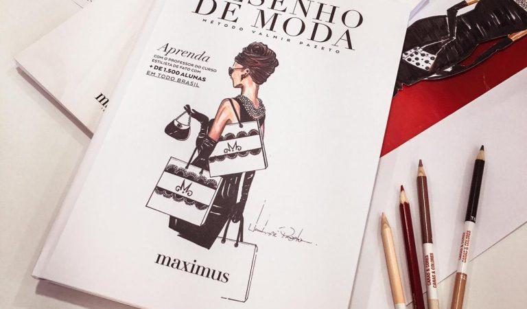 Livro Desenho de Moda Método Valmir Pazeto
