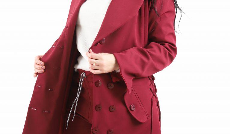 Série modelagem e costura de peças essenciais: sobretudo trench coat
