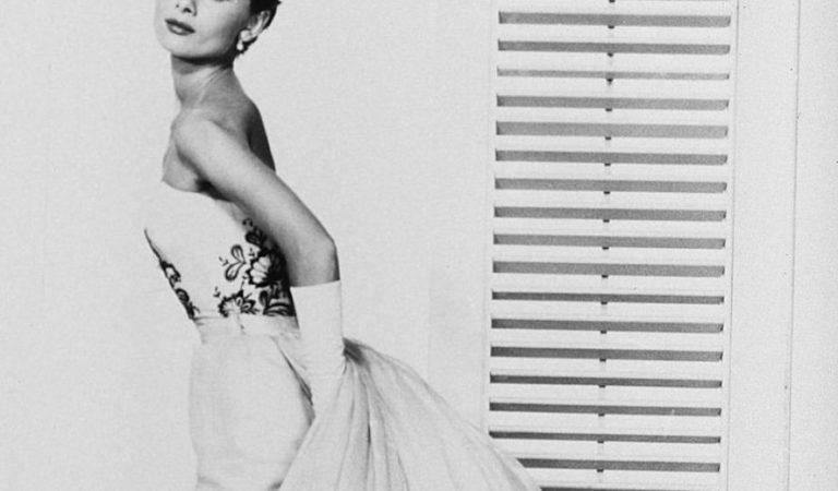 Tecidos dos vestidos de Audrey Hepburn
