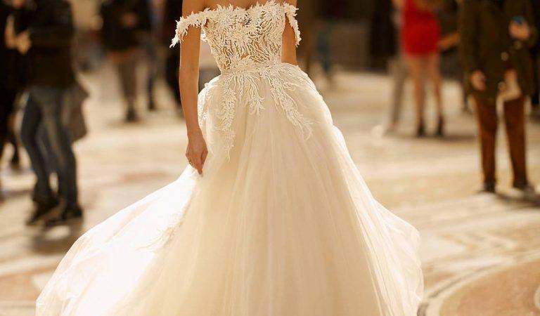 Tipos de tule para usar em vestidos de noivas