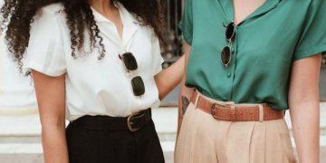 A costura da alfaiataria feminina