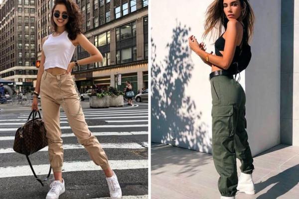 Anos 90: a tendência das calças cargo