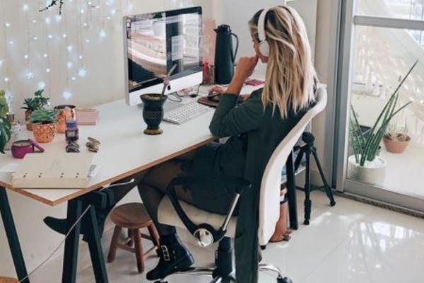 looks de home office para reuniões