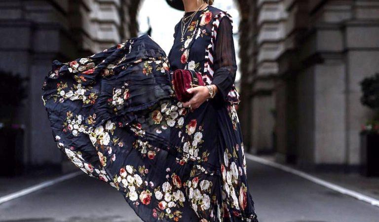 Os melhores tecidos para vestidos de inverno
