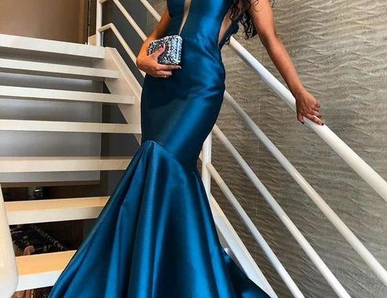 Modelagem para vestido sereia