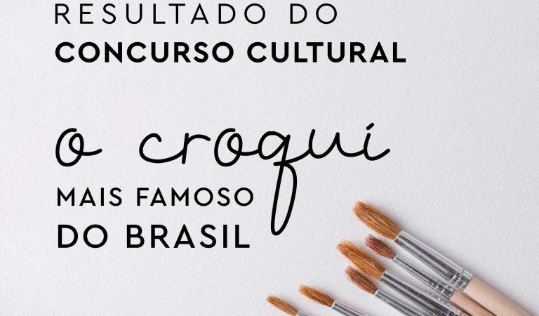 Resultado do concurso cultural: o croqui mais famoso do Brasil 2022
